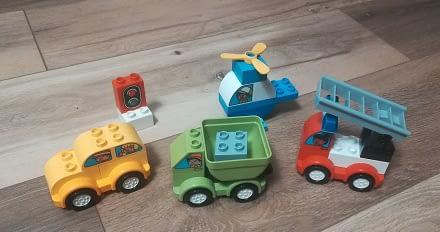 Pierwsza kolekcja aut Duplo